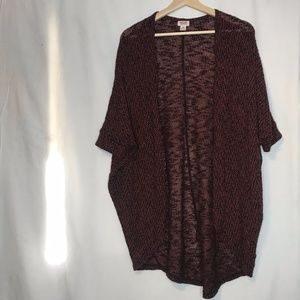 MOSSIMO Half Sleeve Slouchy Cocoon Cardigan S